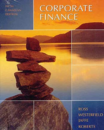 Corporate Finance, 5th Edition Cover