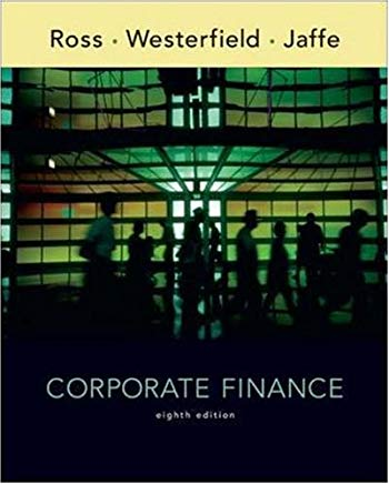 Corporate Finance, 8th Edition Cover