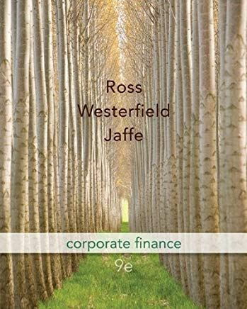 Corporate Finance 9th Edition (McGraw-Hill/Irwin Series in Finance, Insurance and Real Estate) Cover
