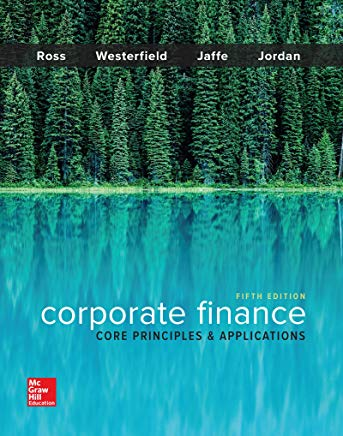 Corporate Finance: Core Principles and Applications (Mcgraw-hill Education Series in Finance, Insurance, and Real Estate) Cover