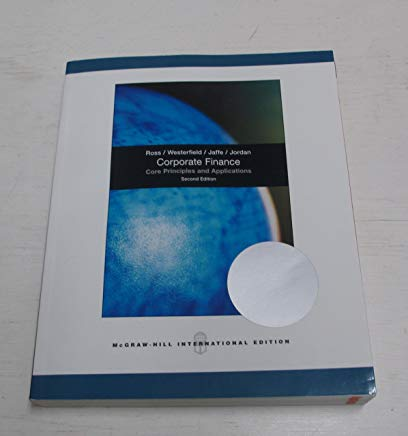 Corporate Finance: Core Principles and Applications Cover