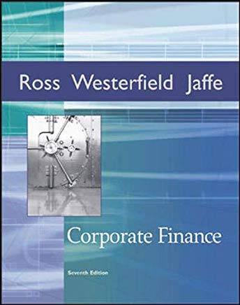 Corporate Finance + Student CD-ROM + Standard & Poor's card + Ethics in Finance PowerWeb (Irwin Series in Finance) Cover