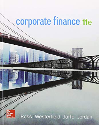 Corporate Finance with Connect 1 Semester Access Card Cover