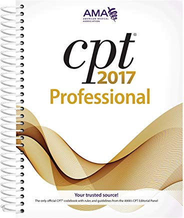 CPT 2017 Professional Edition (CPT/Current Procedural Terminology (Professional Edition)) Cover
