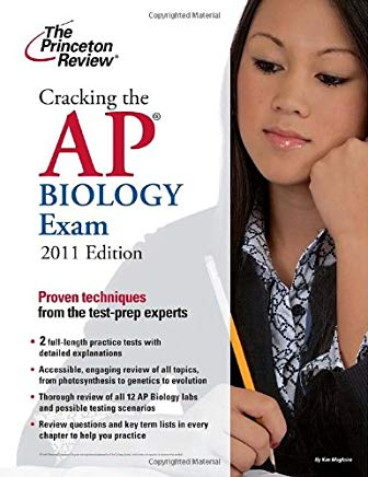 Cracking the AP Biology Exam, 2011 Edition (College Test Preparation) Cover