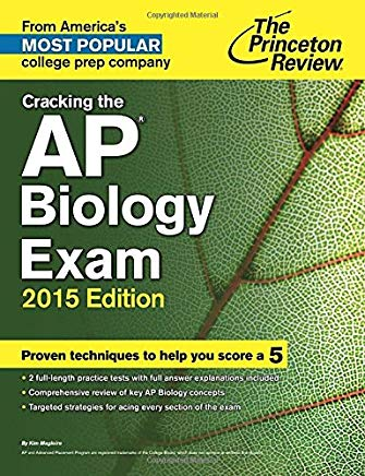 Cracking the AP Biology Exam, 2015 Edition (College Test Preparation) Cover