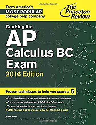 Cracking the AP Calculus BC Exam, 2016 Edition (College Test Preparation) Cover
