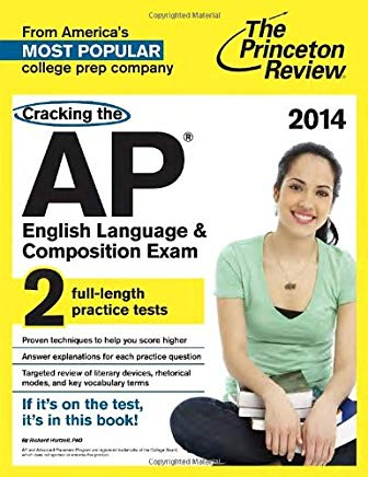 Cracking the AP English Language & Composition Exam, 2014 Edition (College Test Preparation) Cover