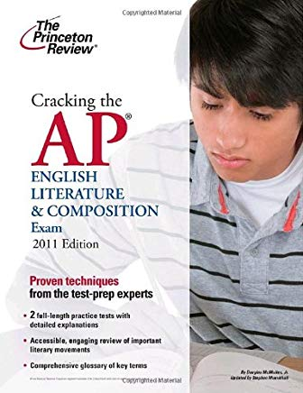 Cracking the AP English Literature & Composition Exam, 2011 Edition (College Test Preparation) Cover