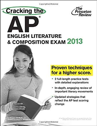 Cracking the AP English Literature & Composition Exam, 2013 Edition (College Test Preparation) Cover