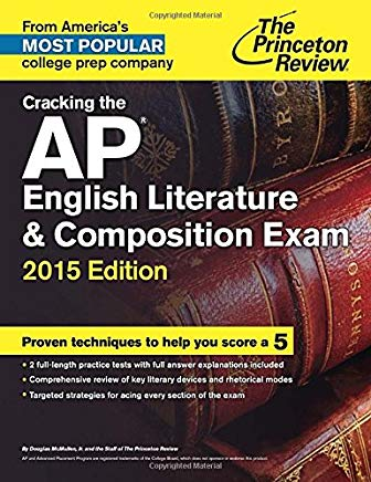 Cracking the AP English Literature & Composition Exam, 2015 Edition (College Test Preparation) Cover