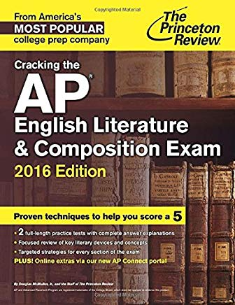 Cracking the AP English Literature & Composition Exam, 2016 Edition (College Test Preparation) Cover