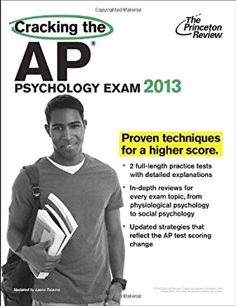 Cracking the AP Psychology Exam, 2013 Edition (College Test Preparation) Cover