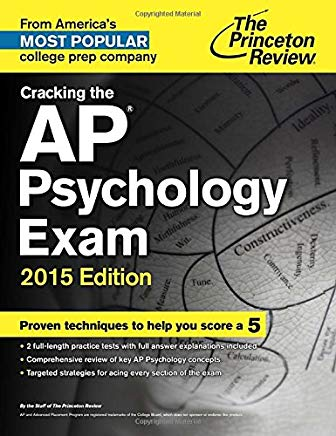 Cracking the AP Psychology Exam, 2015 Edition (College Test Preparation) Cover