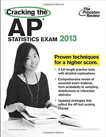 Cracking the AP Statistics Exam, 2013 Edition (College Test Preparation) Cover