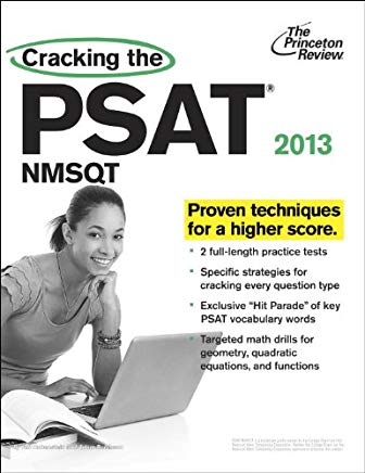 Cracking the PSAT/NMSQT, 2013 Edition (College Test Preparation) Cover