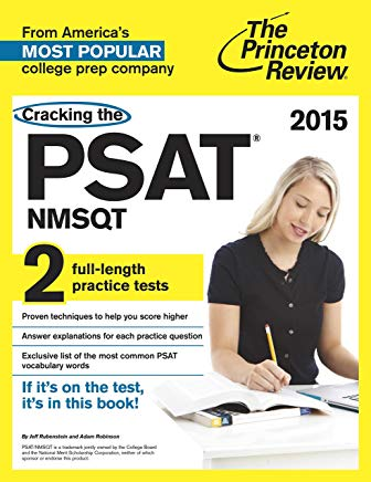 Cracking the PSAT/NMSQT with 2 Practice Tests (College Test Preparation) Cover