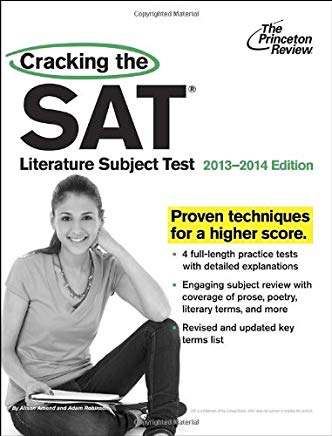Cracking the SAT Literature Subject Test, 2013-2014 Edition (College Test Preparation) Cover