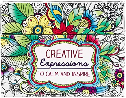 Creative Expressions: Cards to Color and Share Cover