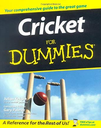 Cricket For Dummies Cover