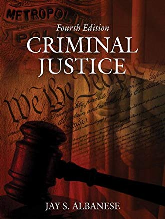 Criminal Justice (4th Edition) Cover