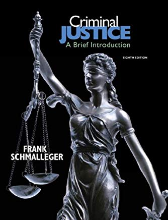 Criminal Justice: A Brief Introduction (8th Edition) Cover