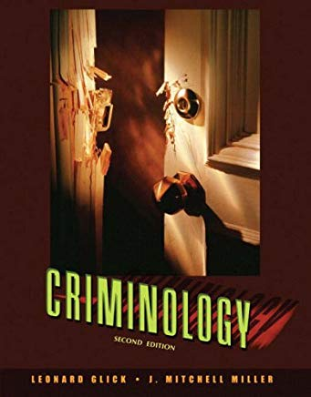 Criminology (2nd Edition) Cover