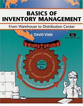 Crisp: Basics of Inventory Management: From Warehouse to Distribution Center (CRISP FIFTY-MINUTE SERIES) Cover