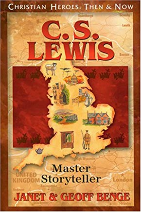 C.S. Lewis: Master Storyteller (Christian Heroes: Then & Now) Cover