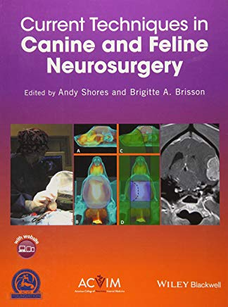 Current Techniques in Canine and Feline Neurosurgery Cover