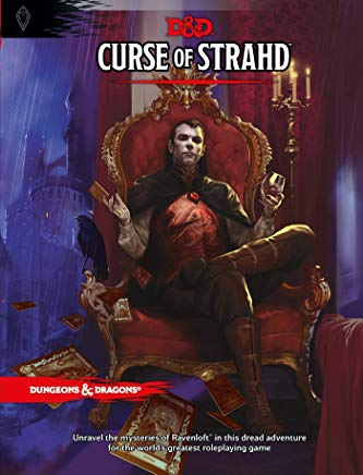 Curse of Strahd: A Dungeons & Dragons Sourcebook Cover
