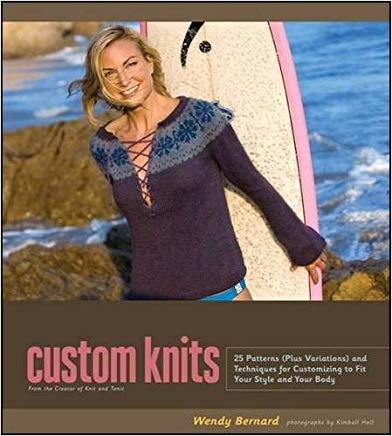 Custom Knits: Unleash Your Inner Designer with Top-Down and Improvisational Techniques Cover