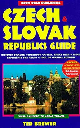 Czech & Slovak Republics Guide: 2nd Edition (Open Road Travel Guides) Cover