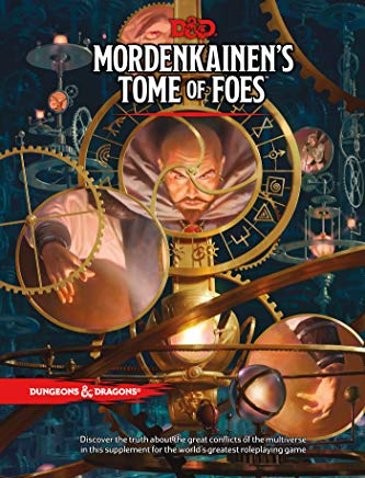D&D MORDENKAINEN'S TOME OF FOES (Dungeons & Dragons) Cover