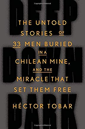 Deep Down Dark: The Untold Stories of 33 Men Buried in a Chilean Mine, and the Miracle That Set Them Free Cover