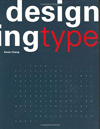 designing type /anglais Cover
