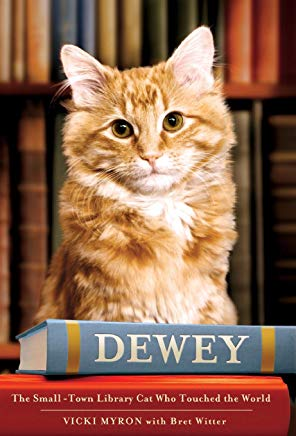 Dewey: The Small-Town Library Cat Who Touched the World Cover