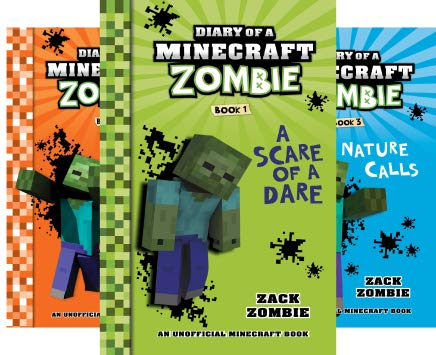 Diary of a Minecraft Zombie (18 Book Series) Cover