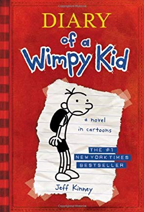 Diary of a Wimpy Kid, Book 1 Cover
