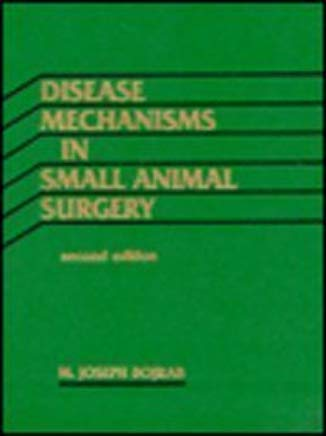 Disease Mechanisms in Small Animal Surgery Cover