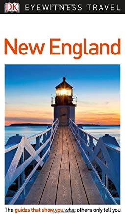 DK Eyewitness Travel Guide New England Cover