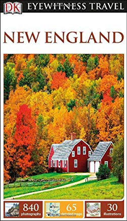 DK Eyewitness Travel Guide: New England Cover