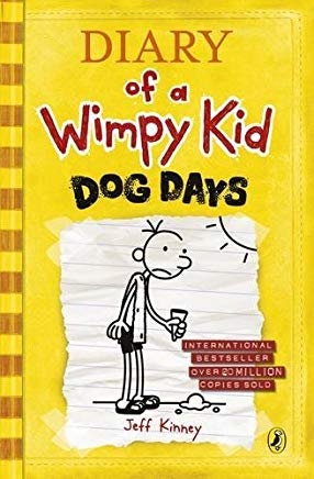 Dog Days (Diary of a Wimpy Kid) by Jeff Kinney (2009-10-13) Hardcover Cover