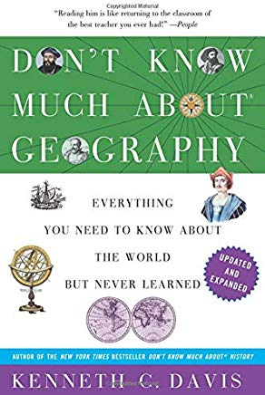 Don't Know Much About Geography: Revised and Updated Edition (Don't Know Much About Series) Cover