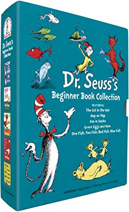 Dr. Seuss's Beginner Book Collection (Cat in the Hat, One Fish Two Fish, Green Eggs and Ham, Hop on Pop, Fox in Socks) Cover