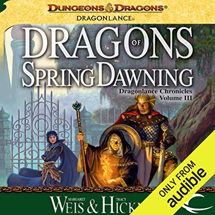 Dragons of Spring Dawning: Dragonlance: Chronicles, Book 3 Cover