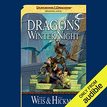 Dragons of Winter Night: Dragonlance: Chronicles, Book 2 Cover