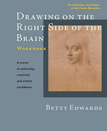 Drawing on the Right Side of the Brain Workbook: The Definitive, Updated 2nd Edition Cover