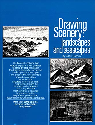 Drawing Scenery: Landscapes and Seascapes Cover