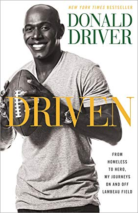 Driven: From Homeless to Hero, My Journeys On and Off Lambeau Field Cover